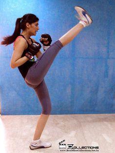 Gorgeous Kriti Sanon learning Karate for Akshay Kumar's Singh Is Bling_1