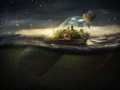 """""""Todo lo que vemos o parecemos es solamente un sueño dentro de un sueño."""" —Edgar Allan Poe"""