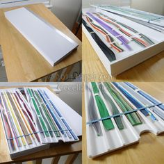Quilling Paper Storage