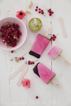 ... black currant popsicles ...  Free Eating Plan optimised for weight loss / detoxification at www.skinnymetea.com.au (under the 'Lifestyle' tab) x