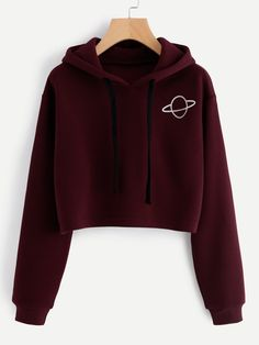 SheIn offers Planet Print Hoodie & more to fit your fashionable needs. SheIn offers Planet Print Hoodie & more to fit your fashionable needs. Teenage Outfits, Teen Fashion Outfits, Fashion Mode, Outfits For Teens, Fashion Clothes, Fashion Ideas, Girl Fashion, Gym Outfits, Fashion Black