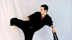 This is a Martial Arts tutorial teaching advanced leg drills to improve strength and flexibility for better kicks. With these leg drills you can learn to kic...