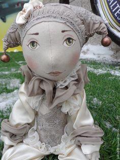 арлекин - интерьерная кукла,интерьерная игрушка,кукла ручной работы,кукла