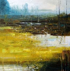 """Saatchi Online Artist: Claire Wiltsher; Oil, 2011, Painting """"Transitions"""""""