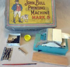 Vintage Toy - Boxed Carbak Codeg John Bull Printing Machine Mark 5 - Gt Britain | eBay