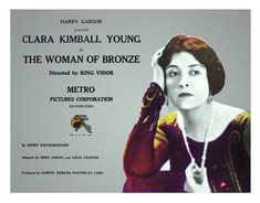 The Woman of Bronze (1923)