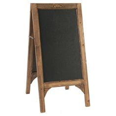 This folding chalkboard is perfect listing your cellared wines or encouraging creativity in your little one's playroom.  Product: