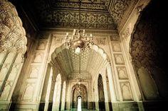 Badshahi Mosque in Lahore, Pakistan