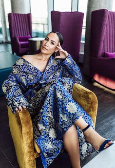 Cynthia Loyst on The Social, Sex, and How to Find Your Pleasure - Beyond Fashion Magazine Toronto, Wrap Dress, Lifestyle, Dresses, Women, Fashion, Gowns, Moda, Women's
