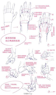 Hand Drawing Reference, Art Reference Poses, Human Drawing, Manga Drawing, Drawing Hands, Anatomy Drawing, Anatomy Art, Drawing Skills, Drawing Tips