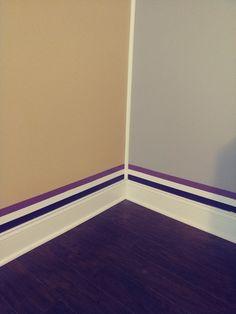 Baseboard , wall , colours , Nice , finally , it was worth it ,