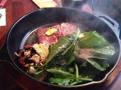 [2046PanSteak] 14000won The best Korean beef served with French style Garnish!