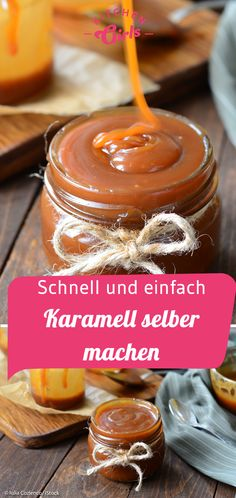 Creamy, tender and simply indescribably delicious - us .- Cremig, streichzart und einfach unbeschreiblich lecker – unsere schnelle Karam… Creamy, spreadable and simply indescribably delicious – our quick caramel cream. Mini Desserts, Holiday Desserts, Italian Cookie Recipes, Mexican Food Recipes, Snack Recipes, Easy Healthy Recipes, Fall Recipes, Holiday Recipes, Easy Freezer Meals