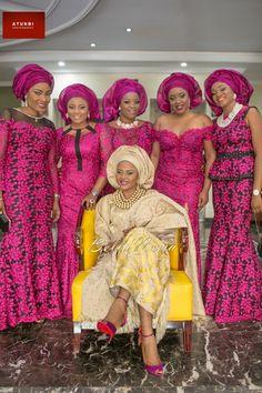 Bukky & Kayode Yoruba Traditional Engagement in Lagos, Nigeria ~ African fashion, Ankara, kitenge, Kente, African prints, Braids, Asoebi, Gele, Nigerian wedding, Ghanaian fashion, African wedding ~DKK