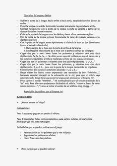 ¡MI MUNDO ES DE MIL Y UN COLORES!: Orientaciones para trabajar en casa la correcta articulación del fonema /rr/