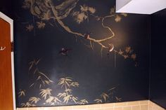 Black Jade Chinoiserie in the Bath — Color Therapy