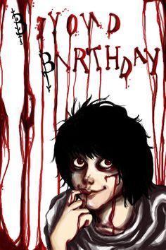 Beyond Birthday by MsIndieRock.deviantart.com on @deviantART  (This one's creepy....)