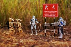 Photographer Uses 'Star Wars' Figurines To Depict A Day In The Life Of A Stormtrooper (Photos)