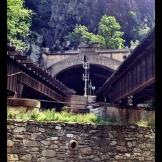 Harpers Ferry Railroad Tunnel- Along the C & O Canal