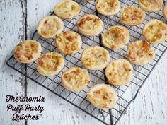 Thermomix Puff Party Quiches