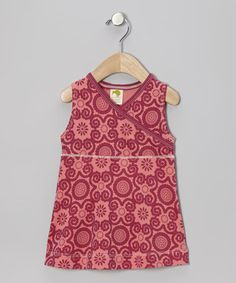 Take a look at this Rosy Flora Organic Surplice Dress - Infant & Toddler by Kiwi Industries on #zulily today!