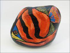 Orange Angel Fish  --  Pez Angel Naranja