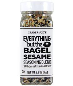 Everything but the Bagel Sesame Seasoning Blend   Trader Joe's