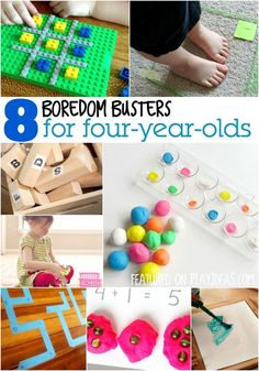 Boredom Busters for Four-Year-Olds activities for 4 year old boys Boredom Busters for Four-Year-Olds 4 Year Old Activities, Indoor Activities, Craft Activities For Kids, Educational Activities, Learning Activities, Preschool Activities, Projects For Kids, Games For Kids, Toddler Snacks