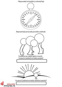 Punctele cardinale Clock, Wall, Decor, Geography, Watch, Decoration, Clocks, Walls, Decorating