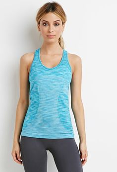 Seamless Space Dye Tank | Forever 21 - 2000131178
