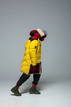 The third collaboration between Woolrich and Griffin focuses on sustainability through a trio of creative approaches. Mens Trends, Winter Looks, Canada Goose Jackets, Parka, Winter Jackets, Menswear, Sustainability, Mens Fashion, Collaboration