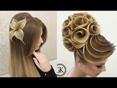 Increíbles Transformaciones / Peinados Hermosos - Amazing Hair Transformations Compilation 2017 - YouTube