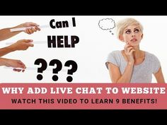 Why Add Live Chat To Website? ...run a business adding live chat to your website is an easy decision. Demo a business chatbot and sign up for a FREE Chatbot trial today!