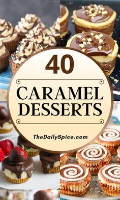 Mini Desserts, No Cook Desserts, Homemade Desserts, Cookie Desserts, Easy Desserts, Delicious Desserts, Caramel Treats, Caramel Recipes, Oreo Dessert
