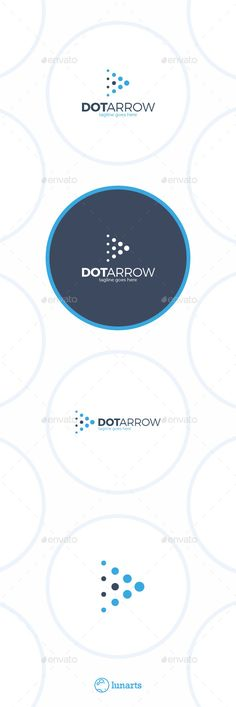 Arrow Dot  - Play Logo Design Template Vector #logotype Download it here: http://graphicriver.net/item/arrow-dot-logo-play/12899700?s_rank=514?ref=nexion