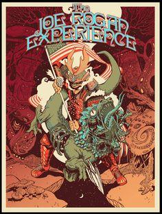 The Joe Rogan Experience fan art by Nick Lakiotes - Imgur