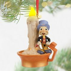 Jiminy Cricket Sketchbook Ornament | Ornaments | Disney Store
