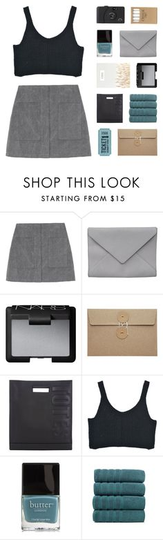 """""""torn"""" by kiiaa ❤ liked on Polyvore featuring Ann Demeulemeester, NARS Cosmetics, 3.1 Phillip Lim, Butter London and Jayson Home"""