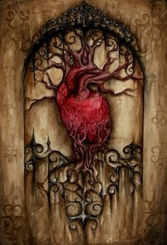 Maybe my favorite a heart AND a tree and Medieval looking too!
