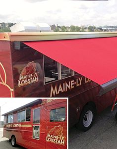 NuImage Custom Solutions Installed This Awnings Series K300 Retractable Awning On A Food Truck