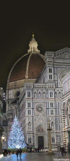 Christmas, Florence, Italy