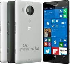 Microsoft Lumia 950 XL Starts Leaking Race Between @evleaks and @OnLeaks