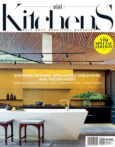 Special Edition: VISI Kitchens #VISIMagazine #VISIMag #Kitchens Latest Kitchen Trends, Latest Design Trends, Other Rooms, Small Spaces, Most Beautiful, Appliances, Kitchens, Outdoor Decor, Modern