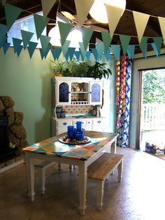 Make your own flags & construction paper chains