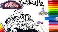 Rotulador Mágico del Hombre Araña Ultimate Spider Man de Imagine Ink en ...