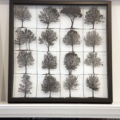Papercuts-cutouts-handcuts-trees trees trees..all about trees $100.00