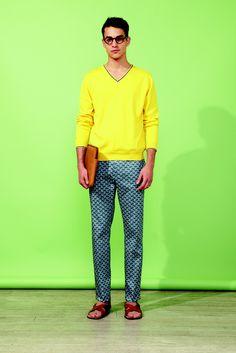 Paul & Joe ss14. Must buy patterned pants next season...