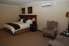 The Elegant Lodge is a 4-star destination in Tshwane (Gauteng) with 26 tastefully decorated en suite rooms.