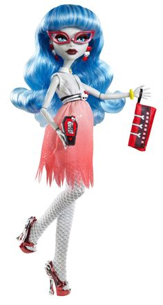 Amazon.com: Monster High Dawn Of The Dance Ghoulia Yelps Doll: Toys & Games
