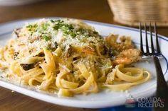Receita de Talharim ao camarão em Massas, veja essa e outras receitas aqui!